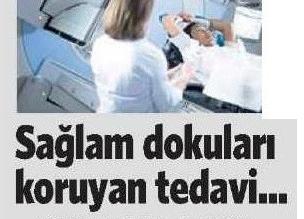 Millet Gazetesi - Sağlam Dokuları Koruyan Tedavi.
