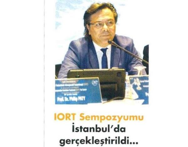 IORT Sempozyumu İstanbul'da Gerçekleştirildi.
