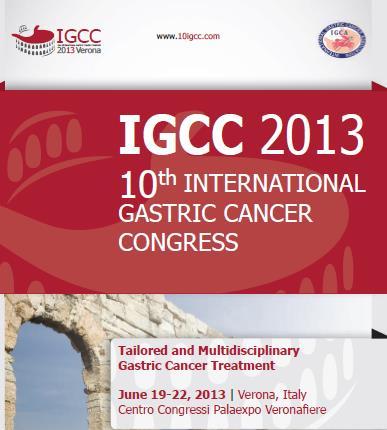 10. Uluslararası Gastrik Kanser Kongresi'ne katılan Prof. Dr. Oktar Asoğlu Enlarged Working Group members arasında yer almıştır.